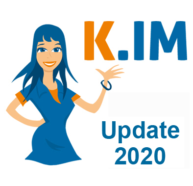 Kim Datenupdate 2020